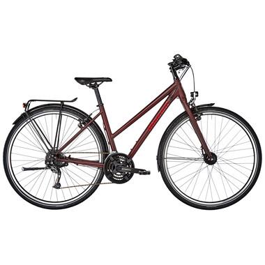 Vélo de Voyage DIAMANT ELAN TRAPEZ Femme Rouge 2020